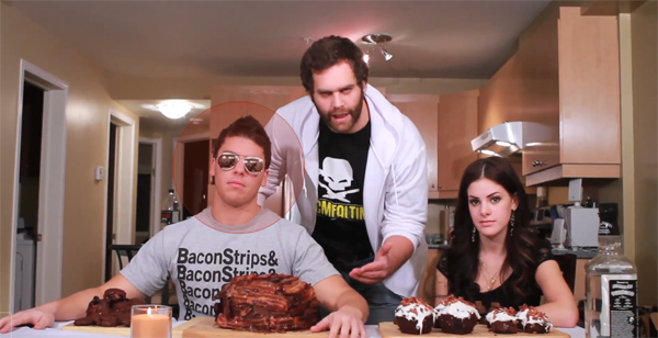 Muscles Glasses from Epic Meal Time Dies in Tragic Food Related Accident