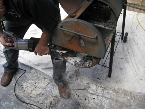 Acts Of Manliness How To Refurbish Or Recondition A Bbq Smoker