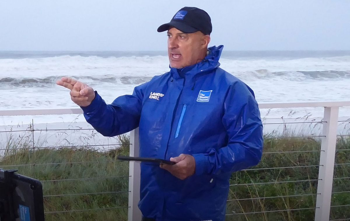 Is The Weather Channel  Moving Rain Jacket Vendors?